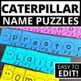 Caterpillar Theme Name Activities | Name Practice Editable