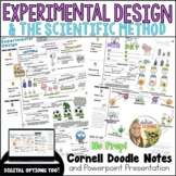 Experimental Design Scientific Method Cornell Doodle Notes and Powerpoint