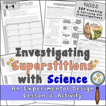 Experimental Design Lesson - Investigating Superstitions