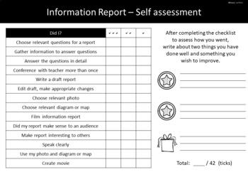 Information report media presentation project