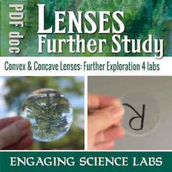 Lenses and Optics: Exploring Concave and Convex Lenses—4 In-Depth Labs w/ CER