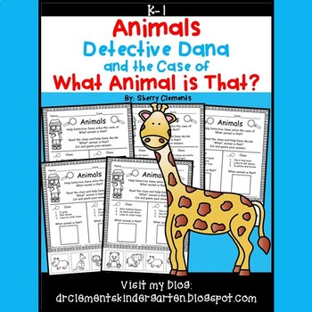 Zoo Animal Clues Distance Learning