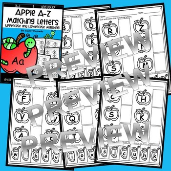 Apples Alphabet Match