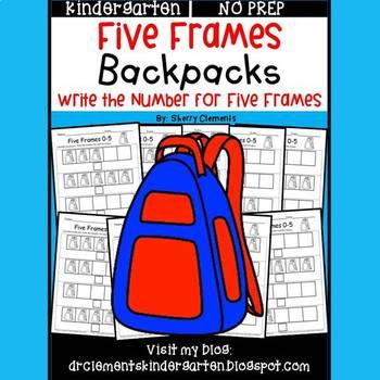 Backpacks (Five Frames)