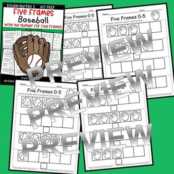 Baseball (Five Frames)