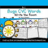 Insects CVC Words   Spring   Distance Learning