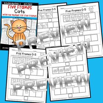 Cats (Five Frames)