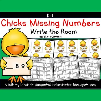 Chicks Write the Room (Missing Numbers 0-10)