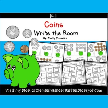 Coins Write the Room (Sorted Values)