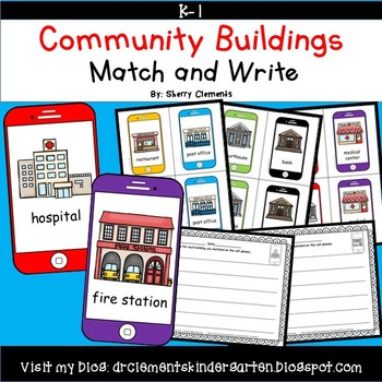 Community Buildings Match and Write