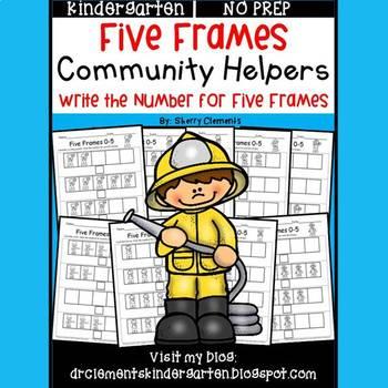 Community Helpers (Five Frames)