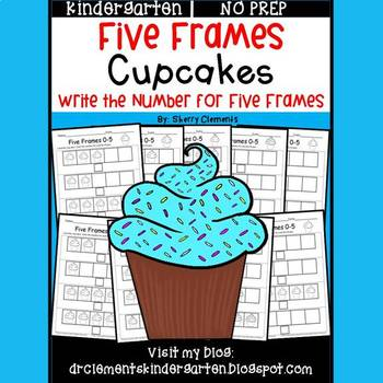 Cupcakes (Five Frames)