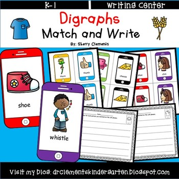Digraphs Match and Write