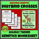 Christmas Dihybrid Cross Worksheet -Reindeer Genetics Punnett Squares