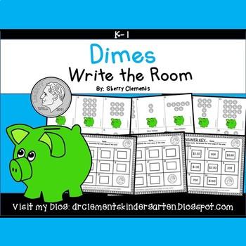 Dimes Write the Room