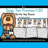Dogs Write the Room (Ten Frames 1-20)