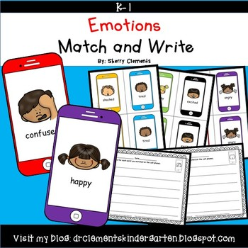 Emotions Match and Write