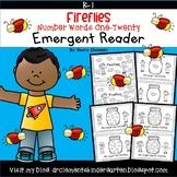 Fireflies Emergent Reader Number Words One-Twenty