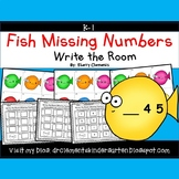 Fish Write the Room (Missing Numbers 0-10)