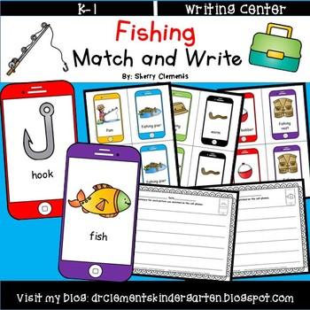 Summer Fishing Match and Write