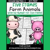 Farm Animals Five Frames