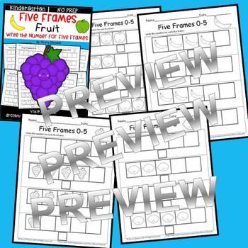 Fruit Five Frames