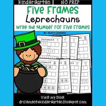 Leprechauns Five Frames