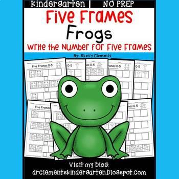 Frogs (Five Frames)