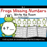 Frogs Write the Room (Missing Numbers 0-10)