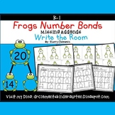 Frogs Write the Room Number Bonds (Missing Addends)