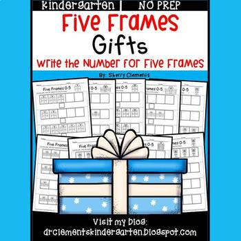 Gifts (Five Frames) by Sherry Clements | Teachers Pay Teachers