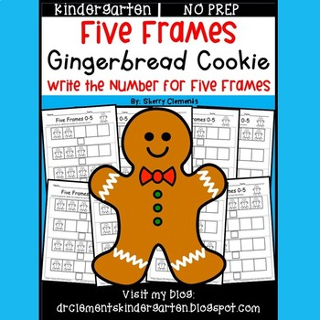 Gingerbread Cookie (Five Frames)