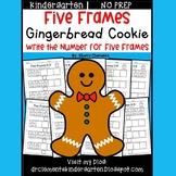 Gingerbread Cookie (Five Frames)