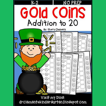 Gold Coins Addition to 20
