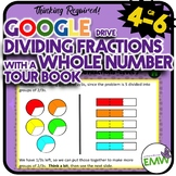 Google Ready Dividing Fractions with Whole Numbers Self Pa