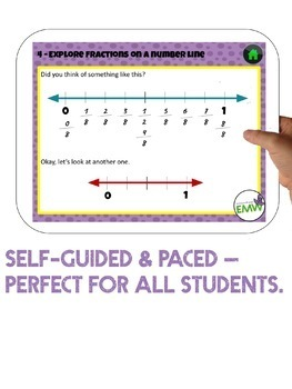 50% off 24 hrs Google Ready Fractions Common Denominator Self Paced Tour Book