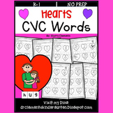 Hearts CVC Words