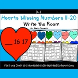 Hearts Write the Room (Missing Numbers 11-20)