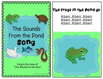 Interactive Books Pond Theme