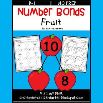 Number Bonds 0-20 (Fruit)