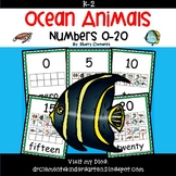 Ocean Animals Numbers 0-20