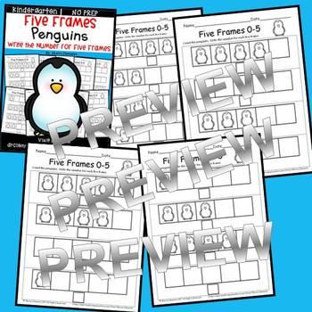 Penguins (Five Frames)