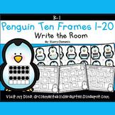 Penguins Write the Room (Ten Frames 1-20)