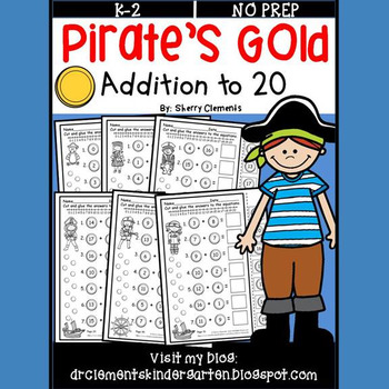 Pirate's Gold Addition to 20 (Cut & Paste)