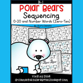 Polar Bears Sequencing 0-20 and Number Words (zero-ten)