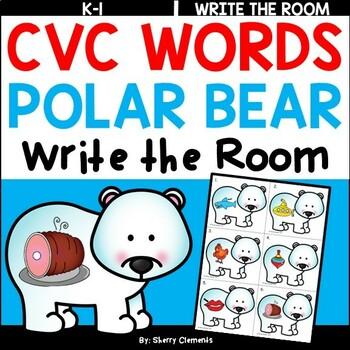 Polar Bears Write the Room (CVC Words)