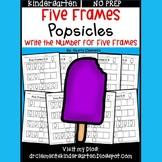 Summer Popsicles (Five Frames)