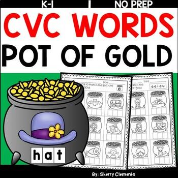 Pot of Gold CVC Words