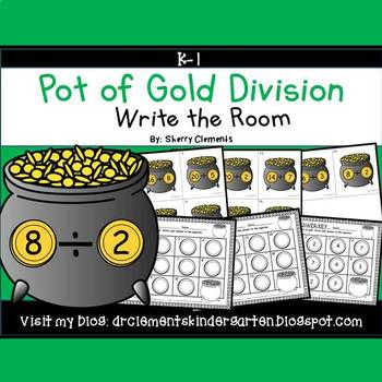 Pot of Gold Write the Room (Division)