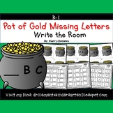 Pot of Gold Write the Room Missing Letters
